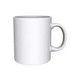 11 oz White Mug