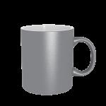 11 oz Silver Mug