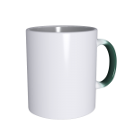 11 oz Green CC Mug