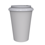 12 oz Travel Mug With White Cap