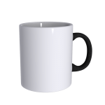 11 oz Soft Feel Black Mug