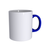 11 oz Soft Feel Blue Mug