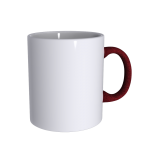 11 oz Soft Feel Maroon Mug