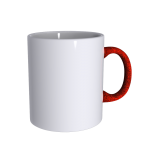 11 oz Soft Feel Orange Mug