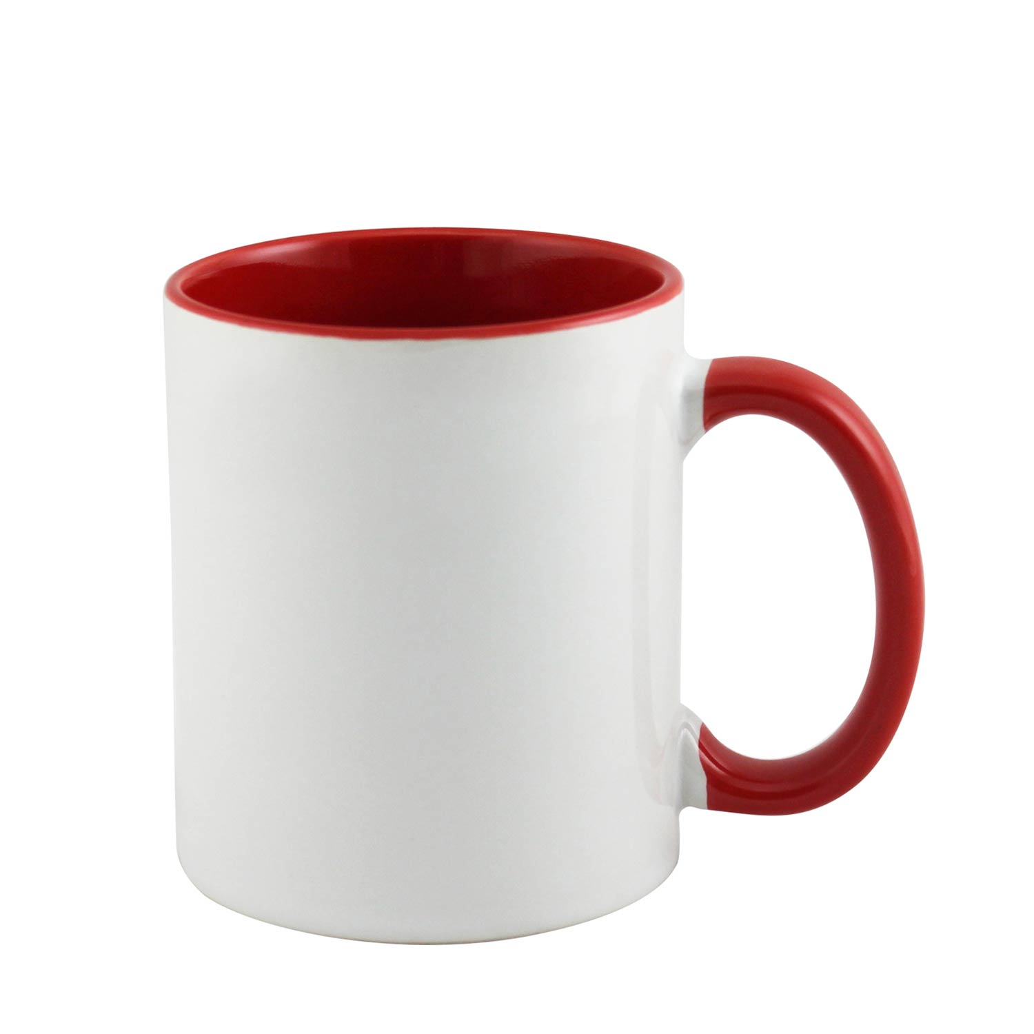 Red Travel Mug With Handle